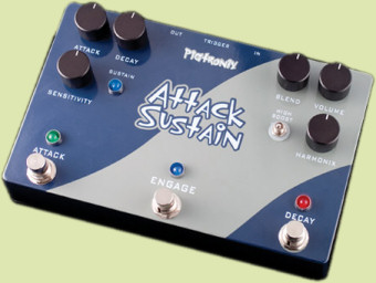 pigtronix asdr attack sustain pedal guitars pedals amps effects. Black Bedroom Furniture Sets. Home Design Ideas