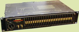 Used Yamaha Q1027 EQ:Guitars, Pedals Amps Effects